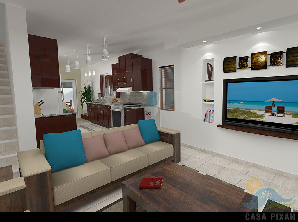 Casa Pixan Living room