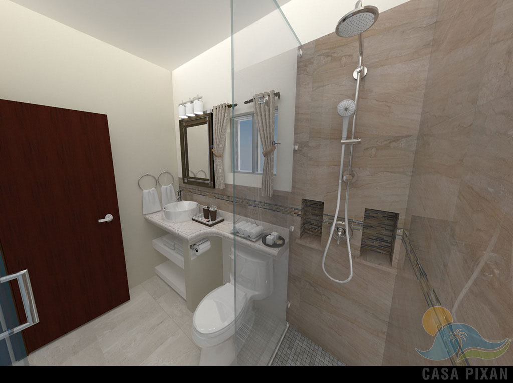 Casa Pixan Bath Room
